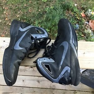 Nike hyperdunk 2010 blackout basketball shoes